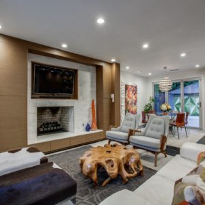 Dallas modern interior design