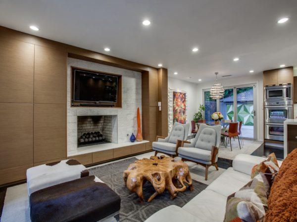 Dallas modern interior design